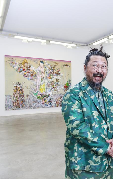 Takashi Murakami, Photo: Claire Dorn.