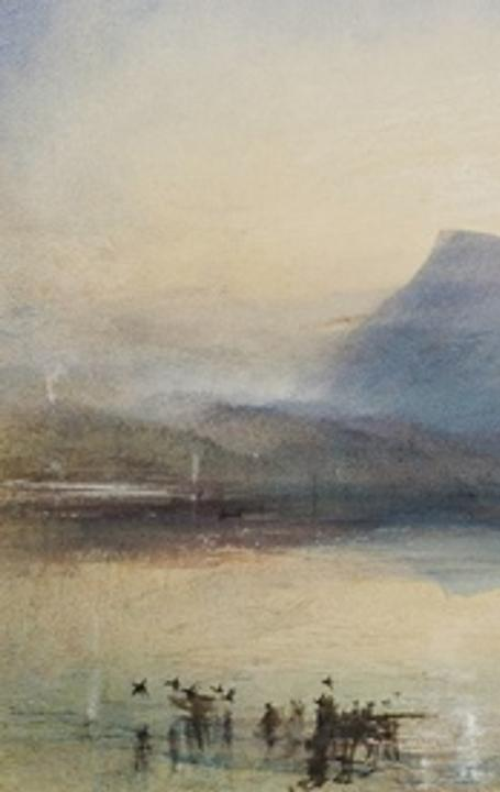 'The Blue Rigi, Sunrise', by JMW Turner (1842)