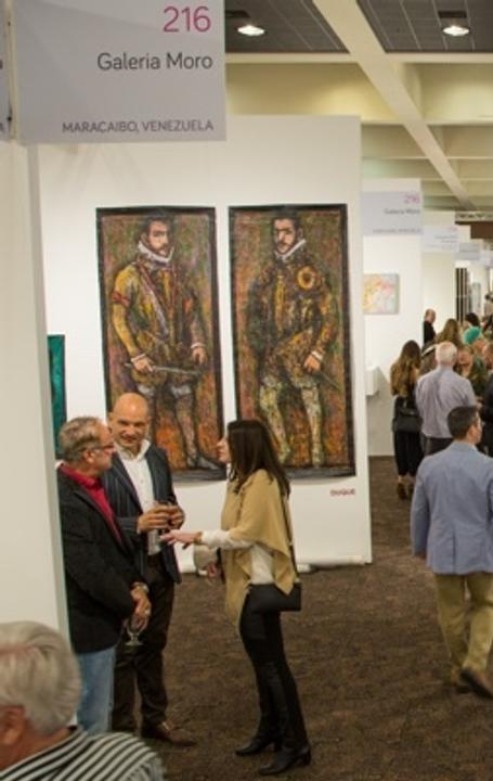 Opening Night Crowd at Art Palm Springs, February 16, 2016