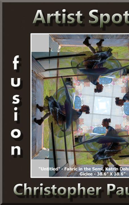 "Christopher Paul Brown Wins Fusion Art's ""Artist Spotlight"" www.fusionartps.com"
