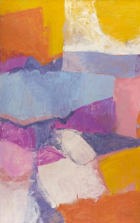 Charlotte Park, Untitled, c.  1963, oil on canvas, 50 x 50 in.