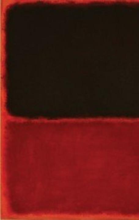 The fake Rothko painting.