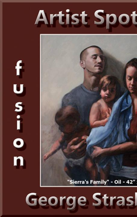 "George Strasburger Wins Fusion Art's ""Artist Spotlight"" Solo Art Exhibition www.fusionartps.com"