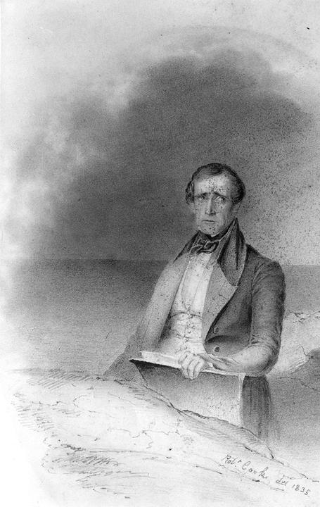Robert Cook, Lane at age 31, 1835, American Antiquarian Society, Worcester, Massachusetts