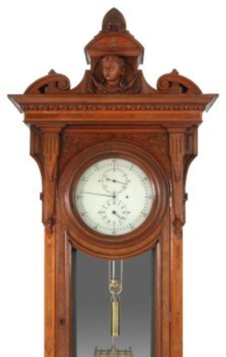 This E.  Howard No.  43 astronomical floor regulator soared to a record price of $254,100 at Fontaine's November 14 auction.