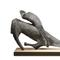 Marino Marini, Studio per Miracolo, conceived and cast in 1953-54