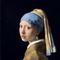 Johannes Vermeer, Girl with a Pearl Earring, c.  1665.  Oil on canvas, 44.5 x 39 cm.  Mauritshuis, The Hague