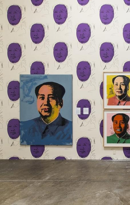 The Andy Warhol Museum, Pittsburgh, floor 4 - Mao installation, © Abby Warhola