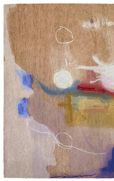 Helen Frankenthaler (American, 1928–2011), Madame Butterfly, 2000.  One hundred and two color woodcut, 41 3/4 x 79 1/2 in.  © 2017 Helen Frankenthaler Foundation, Inc.  / Artists Rights Society (ARS), New York / Tyler Graphics Ltd., Mount Kisco, New York