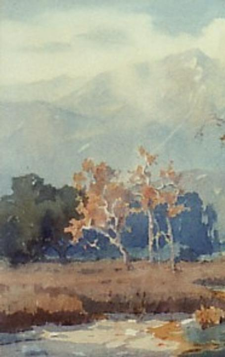 "Marion Kavanaugh Wachtel ""Indian Summer"" SOLD"
