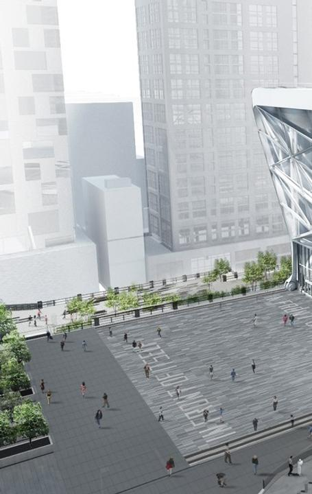 Rendering for The Shed, New York's New Center for Artistic Invention