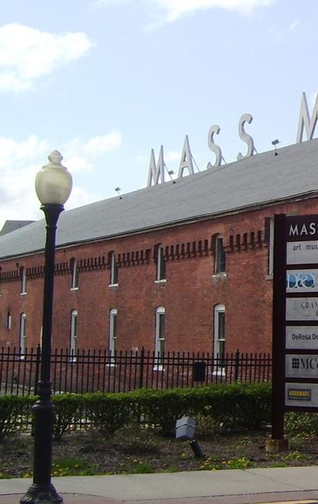 View of Mass MoCA