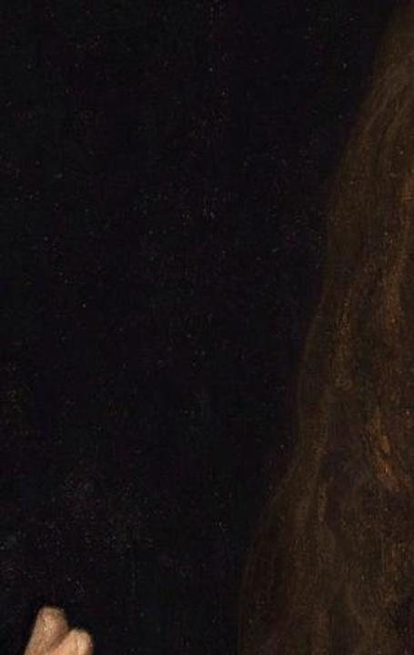 Detail of Salvator Mundi by da Vinci