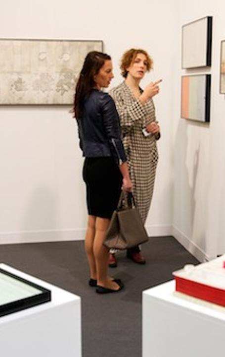 The Box, LA was awarded the best stand at Frieze London 2014, for their solo presentation of works by Barbara T.  Smith.