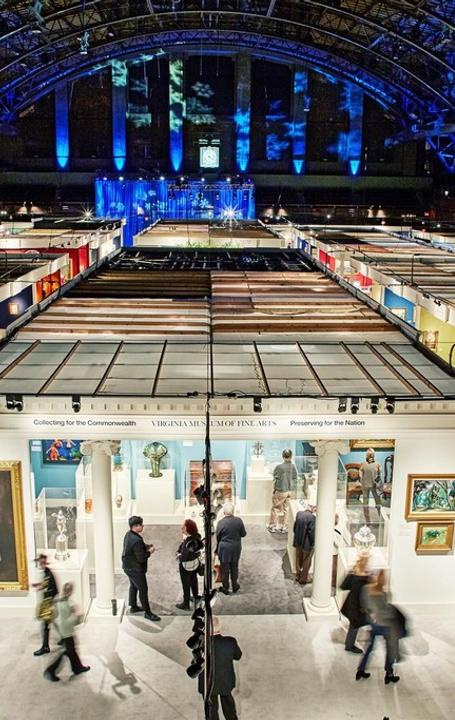 View of The Winter Show 2018, Courtesy The Winter Show.  Photo by Simon Cherry