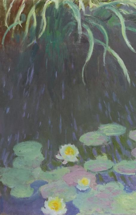 "Monet's 1914-17 ""Waterlilies With Reflections of Tall Grass"" sold at Sotheby's in 2013."