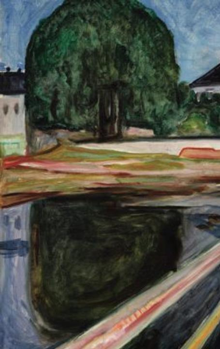 Edvard Munch's Pikene på broen (Girls on the Bridge)