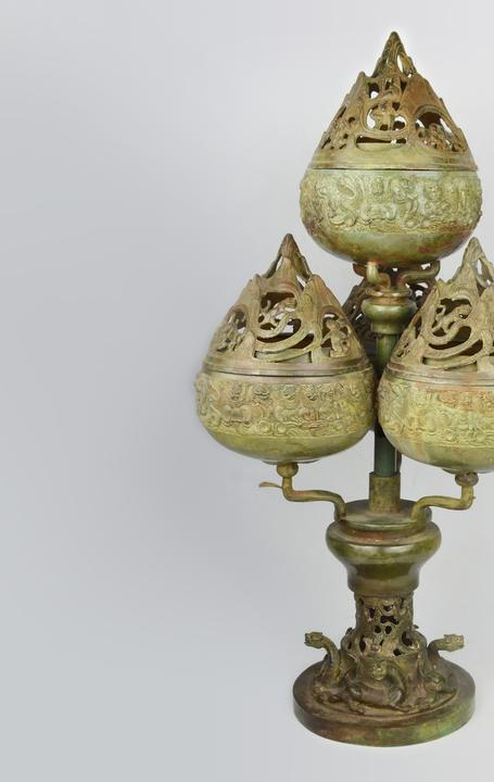 Boshanlu Censer, bronze.  Gianguan Auctions.  September 8th sale.