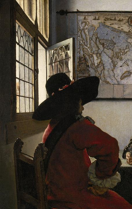 "Vermeer's ""Officer and Laughing Girl"" c.  1657 was sold by Knoedler to Henry Clay Frick.  It is now in the Frick Collection, NY."