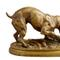 This bronze sculpture by 19th century French artist Henri Emile Adrien Trodoux, titled Boxer Dog and a Rat, signed, four inches tall, will come up for bid June 4-5 in New Orleans, La.