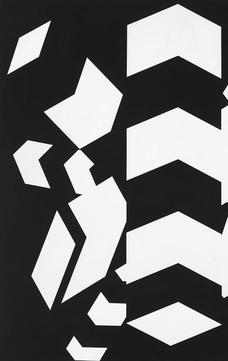 Allan D'Arcangelo (1930-1998) Constellation #10, 1970 Acrylic on canvas 86 x 86 inches
