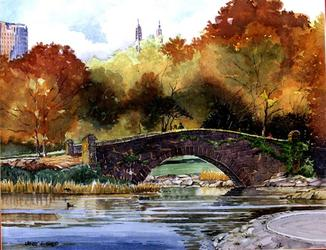 Central Park by Jerry Gadd
