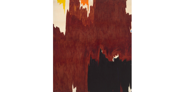 "Clyfford Still's ""1957-G"" (1957) was estimated to bring $12 million to $18 million at Sotheby's.  City & County of Denver, Courtesy Clyfford Still Museum / Artists Rights Society (ARS), New York"
