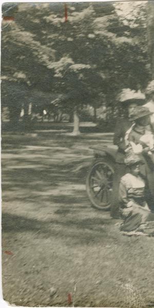 "2) Connecticut Woman Suffrage Association ""Grand Automobile Tour"" of Litchfield County, CT, 1911 RG 101, State Archives, Connecticut State Library"