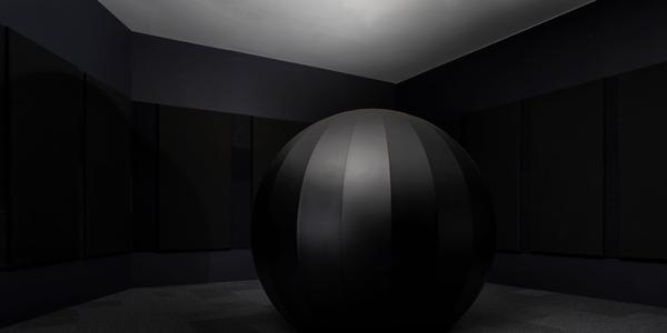 """Yuri Suzuki's Sound of the Earth, Chapter 2, an interactive installation commissioned by the Dallas Museum of Art (temporarily closed) for the group exhibition """"Speechless."""""""