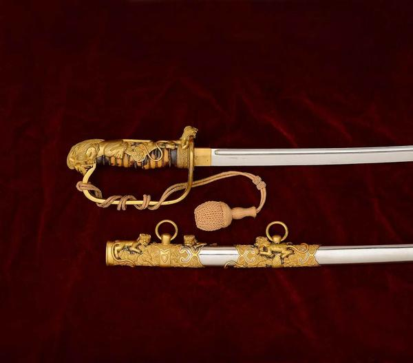 The Magnificent Sword of Wu Peifu - estimate $500,000/1,000,000