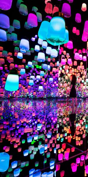 'Forest of Resonating Lamps'
