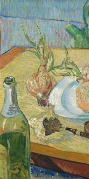 Vincent van Gogh (1853-1890), Still Life with a Plate of Onions, 1889, Kröller-Müller Museum, Otterlo, The Netherlands