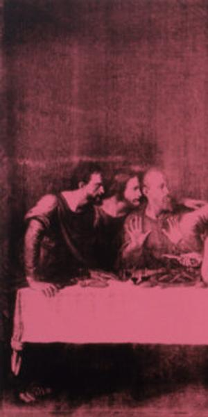 Andy Warhol, The Last Supper, 1986, The Andy Warhol Museum, Pittsburgh, © The Andy Warhol Foundation for the Visual Arts, Inc.