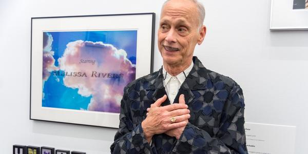 John Waters.  Photo by Chuck Patch, taken in 2018 at BMA, CC BY-NC 2.0