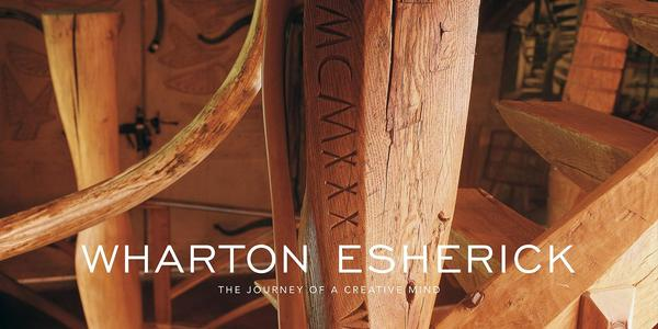 """Cover of """"Wharton Esherick: The Journey of a Creative Mind"""" by Mansfield Bascom."""