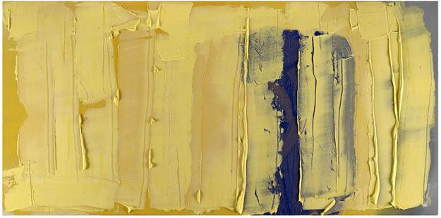 "Frank Wimberley, ""Untitled,"" 2011, acrylic on canvas, 36 x 72 inches"