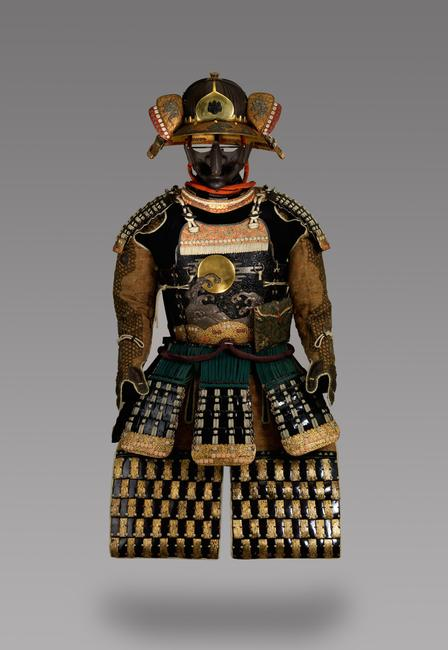 Suit of Armor Edo period (1615–1868), late 18th or early 19th century Iron, doeskin, and lacquer Museum Purchase, 1892.2783