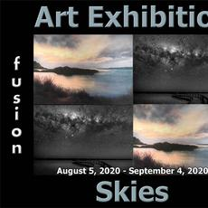4th Annual Skies Art Exhibition www.fusionartps.com