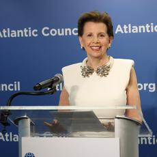 Adrienne Arsht, American business leader, and impact philanthropist
