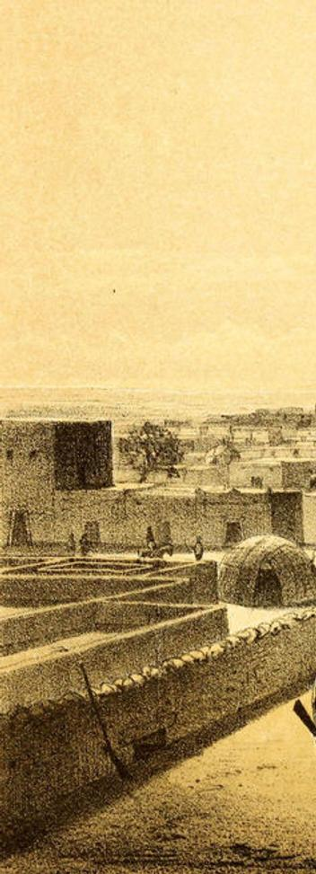 View of Timbuktu, Heinrich Barth (1858)