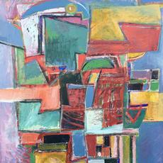 "Ben Wilson, ""Calypso,"" oil on masonite, 54 x 48, 1990"