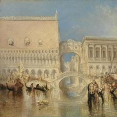 J.M.W.  Turner (1775–1851).  Venice, the Bridge of Sighs, exhibited 1840.  Oil on canvas, 27 x 36 in.  Tate: Accepted by the nation as part of the Turner Bequest 1856.  Photo © Tate, 2019