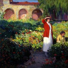 Red and Green, 1923, by Joseph Kleitsch (1882-1931).  The Irvine Museum Collection, at the University of California, Irvine.
