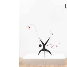 Alexander Calder (1898-1976).  Untitled, c.  1942.  Sheet metal, wire and paint, 116x140x48.3 cm.  Calder Foundation, New York©2019 Calder Foundation, New York / VEGAP, Madrid.  Pablo Picasso (188 -1973).  Tête de taureau [Bull's Head].  Paris 1942.  Bronze, 42x41x15 cm.Fundación Almine y Bernard Ruiz-Picasso para el Arte.  On temporary loan to the Museo Picasso Málaga©Sucesión Pablo Picasso, VEGAP, Madrid 2019.