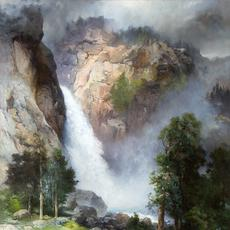 Thomas Moran (1837–1926), Cascade Falls, Yosemite, 1905, oil on canvas, 30 1/4 x 20 in, Sold: $946,000