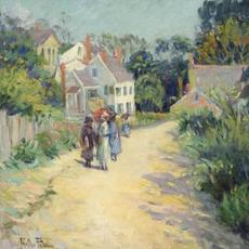 Lady's Sketch Club by Pauline Lennards Palmer (Massachusetts, 1867-1938), sold at Eldred's for $15,600.