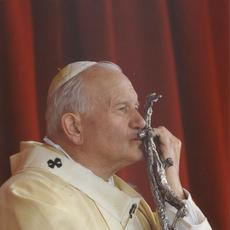 "Sought-after glossy photo of Pope John Paul II, signed by the pontiff as ""Joannes Paulus II"" and depicting him in a benevolent pose, 8 inches by 11 ½ inches (est.  $2,000-$2,400)."