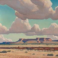 Maynard Dixon.  Wide Lands of the Navajo, 1945.  Oil on canvas board, 24 x 38 in.  Denver Art Museum: Roath Collection, 2013.100
