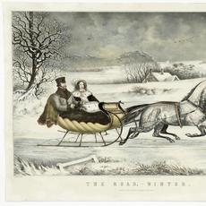 Nathaniel Currier, The Road Winter (estimate: $12,000-15,000), 1853