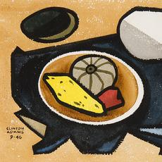 "Clinton Adams, ""Still Life with Gourds,"" 1946, Signed ""Clinton Adams 9 • 46"" lower left, Watercolor on paper, 10 x 14.75 inches"